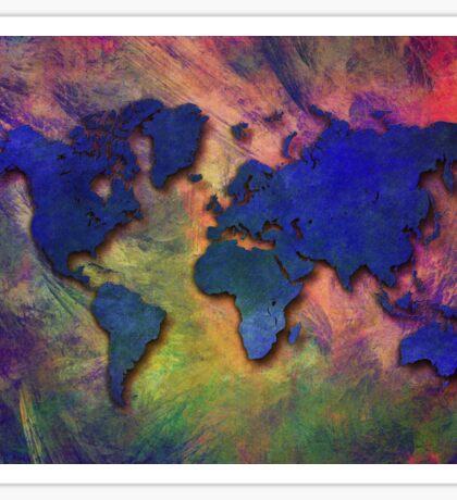World map special 5 Sticker