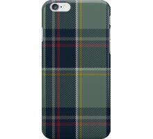 00456 Blue Blas Alba Tartan iPhone Case/Skin