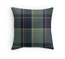 00456 Blue Blas Alba Tartan Throw Pillow