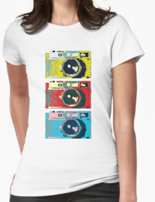 3 Leica M9s Womens Fitted T-Shirt