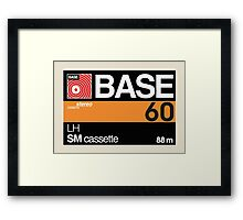 Base C60 Framed Print