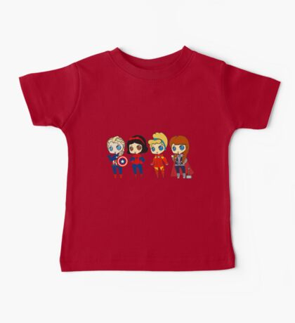 SUPERHERO PRINCESSES Baby Tee
