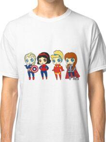 SUPERHERO PRINCESSES Classic T-Shirt