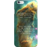 Hitchhiker's Guide Quote iPhone Case/Skin