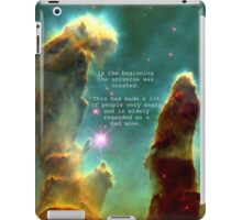 Hitchhiker's Guide Quote iPad Case/Skin