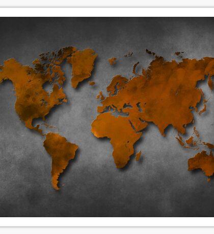 World map special 6 Sticker