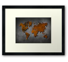 World map special 6 Framed Print