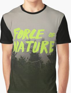 Force of Nature x Cloud Forest Graphic T-Shirt