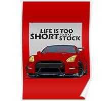 Nissan Skyline GTR R35 Poster