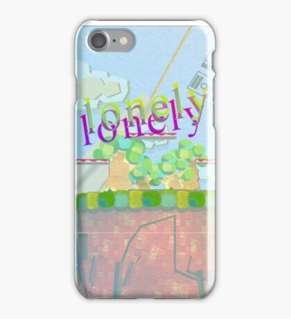 Randal the Lonely Cloud iPhone Case/Skin
