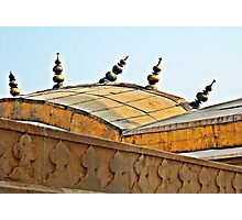 Agra Fort Roof  Photographic Print