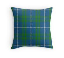 00462 Blue Meadow Tartan  Throw Pillow