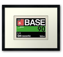 Base C90 Framed Print