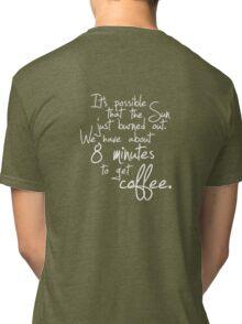 last shot. (refill) Tri-blend T-Shirt