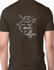 last shot. (refill) Unisex T-Shirt