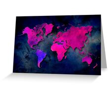 World map special 7 Greeting Card