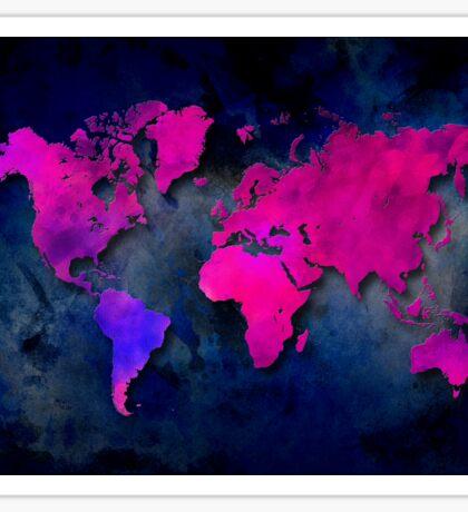 World map special 7 Sticker