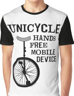 Mobile Device Bold Graphic T-Shirt