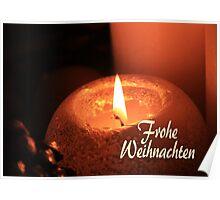 Frohe Weihnachten - German Christmas Poster