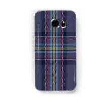 00468 Blue Toon District Tartan  Samsung Galaxy Case/Skin
