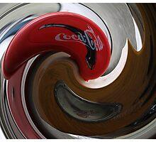 Coca-Cola Twist Photographic Print