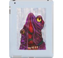 CREEPY MONSTER TWO iPad Case/Skin