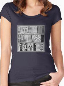 Eurorack Modular 9U T-Shirt Women's Fitted Scoop T-Shirt