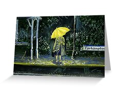 Yellow umbrella part 2 Greeting Card