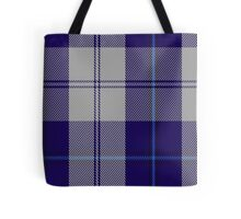 00478 Cunningham Dress Blue Dance Fashion Tartan Tote Bag
