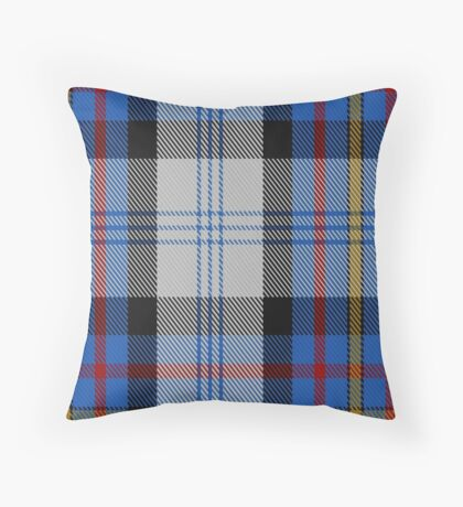 00483 Gillies Dress Blue Clan Tartan Throw Pillow