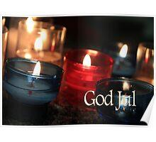 God Jul - Swedish Christmas Poster