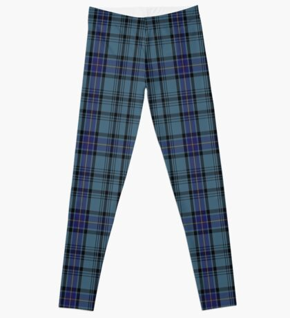 00484 Hannay Blue Clan/Family Tartan  Leggings