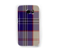 00485 Harris Royal Blue Tartan Samsung Galaxy Case/Skin