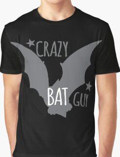 Crazy Bat Guy Graphic T-Shirt