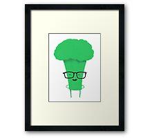 Smart as a broccoli Framed Print