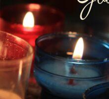 God Jul - Swedish Christmas Sticker