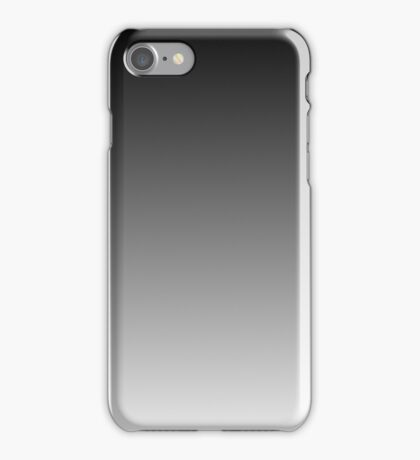 Fade to White Ombre Shaded Fade iPhone Case/Skin