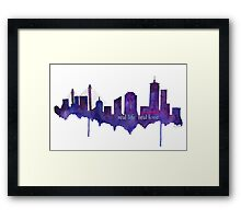 Real Life, Real Love...in Boston Framed Print