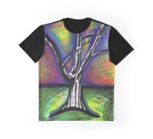 Sunset Tree Graphic T-Shirt