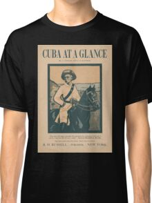Artist Posters Cuba at a glance by A O'Hagan and EB Kaufman 0922 Classic T-Shirt