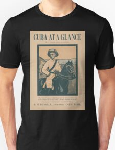Artist Posters Cuba at a glance by A O'Hagan and EB Kaufman 0922 Unisex T-Shirt