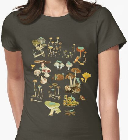 Feline Fungus! Womens Fitted T-Shirt