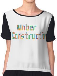 Under construction Chiffon Top