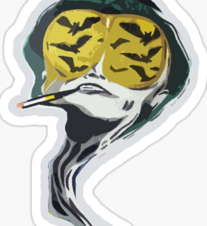 Fear and Loathing in Las Vegas, Bat Country Tripping Sticker