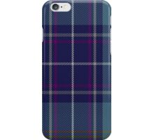 00487 Heirloom Blue Alba Tartan  iPhone Case/Skin