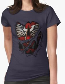 Blood Angels Armor Womens Fitted T-Shirt