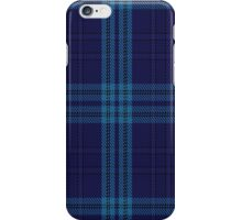 00489 Indigo Blue Tartan iPhone Case/Skin