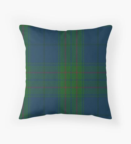 00490 Land's End Blue Tartan  Throw Pillow