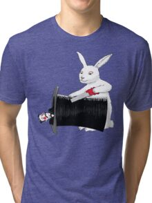 Rabbit vs. Magician Tri-blend T-Shirt