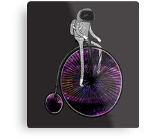 PENNY FARTHING SPACE CYCLE Metal Print